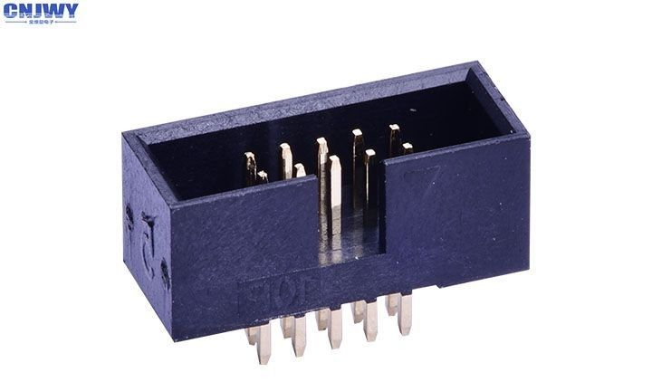 DIP10 Pin  Box Header Connector Contact Resistance 20 MΩ Max Current Rating 1.0AMP
