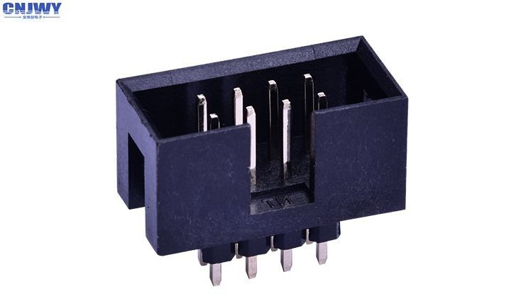 Wire To Board Connector 2.54 Mm Pitch , DIP Type Circuit Board Wire Connectors
